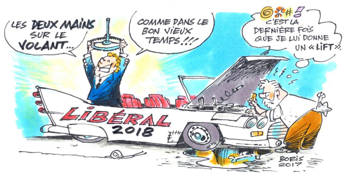 Caricature de Boris